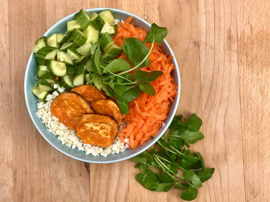 Zen Cauliflower Rice Bowl