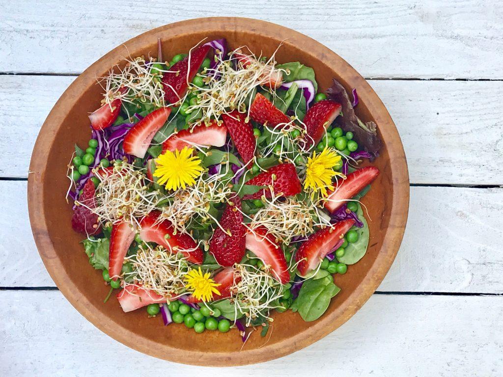 Strawberry Delight Salad